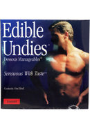Sensuous With Taste Edible Undies Male Cherry