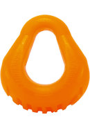 Hung Silicone Cockring Flourescent Orange