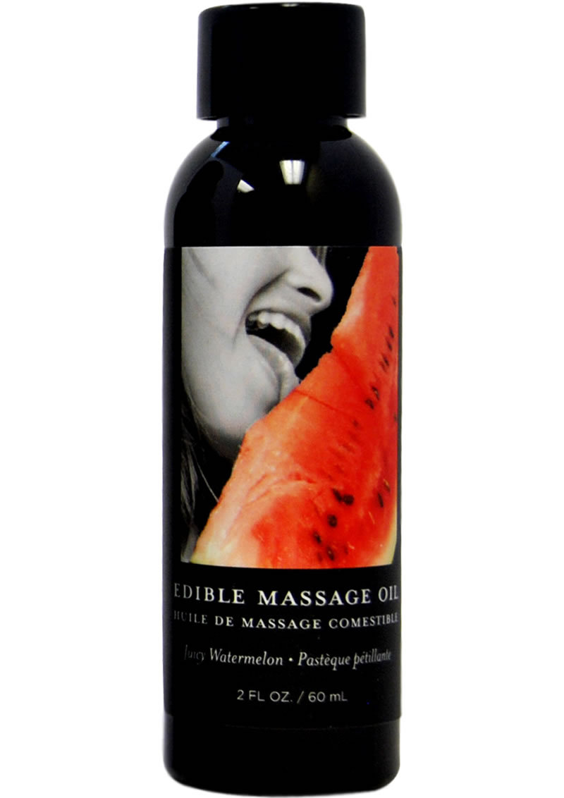 Edible Massage Oil Watermelon 2 Ounce