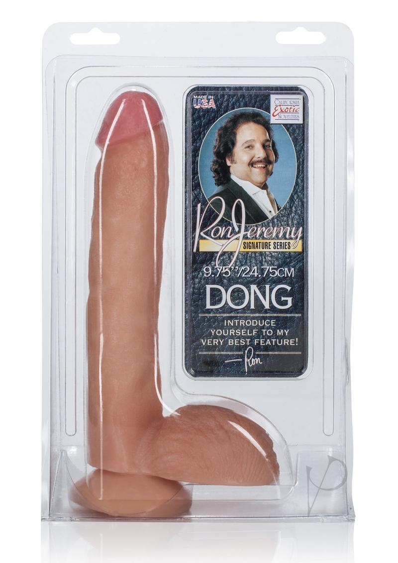 Ron Jeremy Dong Waterproof 9.75 Inch Ivory