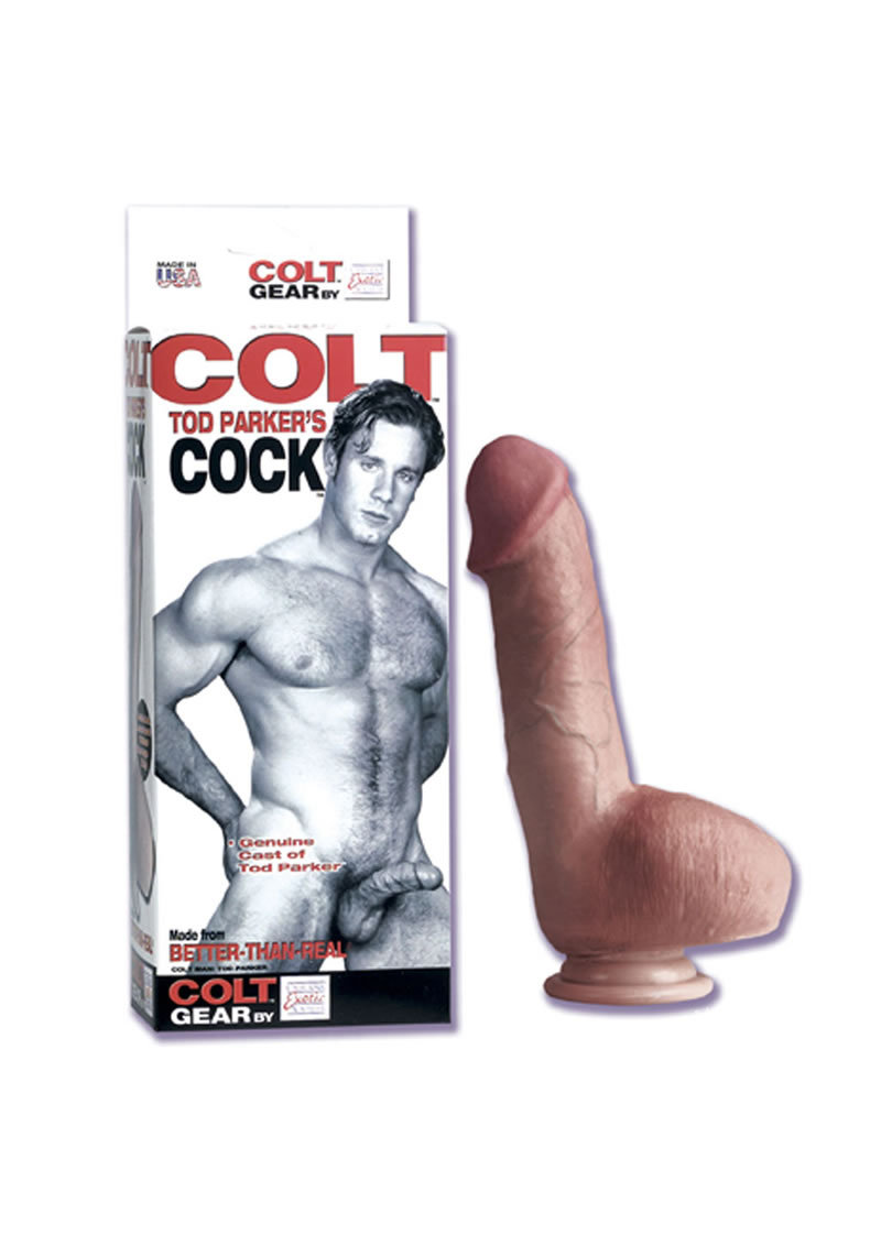 Colt Cock Todd Parker Genuine Cast 7 Inch With Suction Cup